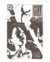 Catwoman #? Cover Prelim - Signed Comic Art
