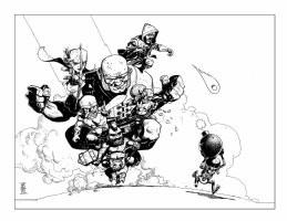 Clash of Clans Artwork - 2015 Signed Comic Art