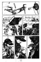 George A. Romero's Empire of the Dead #1 p.17 - Zombie wins the Fight - 2013 Comic Art