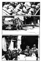 George A. Romero's Empire of the Dead #1 p.1 - Loading Rats onto a Truck - 2013 Comic Art
