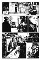 George A. Romero's Empire of the Dead #1 p.3 - SWAT Team in the City - 2013 Comic Art