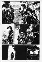 George A. Romero's Empire of the Dead #1 p.2 - SWAT Team in Alley - 2013 Comic Art