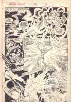 Silver Surfer #39 p.17 - The Power Cosmic - 1990 Signed Comic Art
