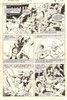 Power Man and Iron Fist #97 p.12 - Danny Rand, Colleen Wing, & Misty Knight Action - 1983 Signed by Mignola Comic Art
