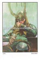 Drunk Loki Print - 2014 Signed Comic Art