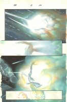 Silver Surfer: Requiem #3 p.20 - Surfer Shot - 2007 Signed