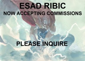 Esad Ribic is Now Accepting Commissions for the Big Apple Con: April 14th and 15th Comic Art