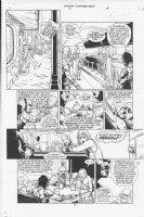 Four Horsemen #1 p.5 Comic Art