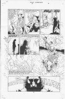 Four Horsemen #1 p.6 Comic Art