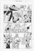 Four Horsemen #4 p.17 Comic Art