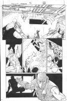 Dark Reign: The List - Wolverine #1 p.10 (inks by Tom Palmer) Comic Art
