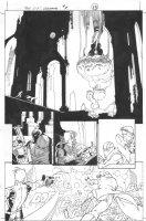 Dark Reign: The List - Wolverine #1 p.13 (inks by Tom Palmer) Comic Art
