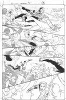 Dark Reign: The List - Wolverine #1 p.15 (inks by Tom Palmer) Comic Art