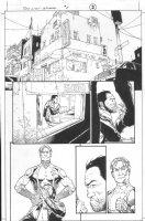 Dark Reign: The List - Wolverine #1 p.2 (inks by Tom Palmer) Comic Art