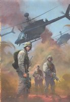 Combat Zone: True Tales of GIs in Iraq #1 Painted Cover - 2005 - Signed