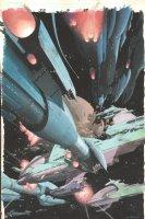 Silver Surfer Requiem #3 p.07 - Awesome Space Battle Splash Comic Art