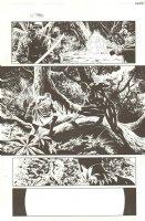 New Avengers #1 p.12 - Over Blue Line of Steve Epting - 2013 Comic Art