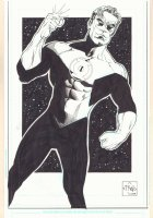 Green Lantern Hal Jordan Commission - 2009 Signed Comic Art