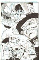 Batman: The Dark Knight #17 p.1 - Mad Hatter Selling Baseball Hats - 2013 Comic Art