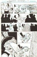 Batman: The Dark Knight #17 p.9 - Mad Hatter - 2013 Comic Art