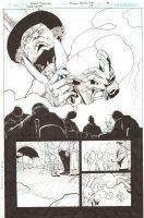 Batman: The Dark Knight #17 p.15 - Mad Hatter 1/2 Splash - 2013 Comic Art