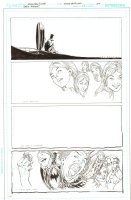 Batman: The Dark Knight #17 p.20 - Mad Hatter Surreal End Page - 2013 Comic Art