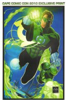Green Lantern Cape Comic Con 2010 Exclusive Print - Multiple Available - Signed & Numbered Comic Art