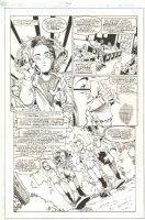 Impulse #65 p.8 - Whole Cast - 2000 Comic Art