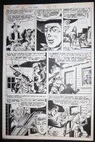 Bulls Eye #4 p.7 - LA - Ghost Town Ambush! - 1955 Comic Art