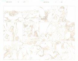 Marvel Age: Hulk - Issue 3 Pgs 2&3 DPS - Hulk Strikes Fear Comic Art
