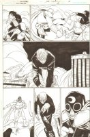 Justice Society of America Classified - Issue 24 Pg 15 - Action VS Vampire Comic Art