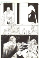 Star Wars : The Old Republic - Issue 3 Pg 3 - Babe Jedi Lightsaber Action Comic Art