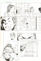 X-Men Unlimited - Issue 3 Pg ? - Patching up Wounds Comic Art