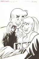 Archie Marries Betty #26 Frontis Piece - Signed Comic Art