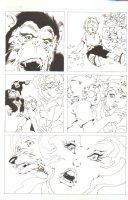 God the Dyslexic Dog p.06 Monkeys Dog & Sexy Babe Comic Art