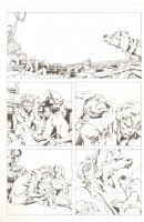 God the Dyslexic Dog p.12 Dog & Bruce the Alcoholic Comic Art