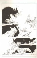 God the Dyslexic Dog p.13 Dog Fight Comic Art