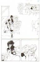 God the Dyslexic Dog p.27 Kissing Splash Comic Art