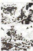 God the Dyslexic Dog p.65 Splash Killing Fields Comic Art