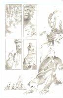 God the Dyslexic Dog p.63 Splashy Sabertooth Tiger - Pencil Comic Art