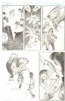 God the Dyslexic Dog p.84 Sabertooth Tiger - Pencil Comic Art