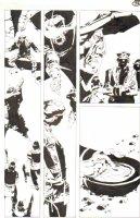 God the Dyslexic Dog p.75 Samurai vs War Pilot Comic Art
