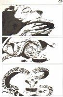 God the Dyslexic Dog p.78 Bear Turtle & Cobra Snake Comic Art