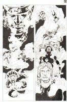God the Dyslexic Dog p.79 1/2 Splash w/ Gods Comic Art