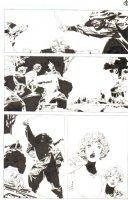 God the Dyslexic Dog p.83 Samurai & Sexy Babe Comic Art