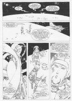 1984 #9 p.18 Sci-Fi Story Comic Art