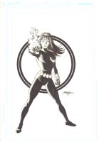 Black Widow Commission - 2009 Signed Comic Art