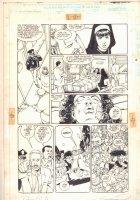 Sachs & Violens #4  p.17 - Hospital Scene - 1994 Double Signed Comic Art