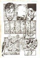 Final Crisis: Legion of Three Worlds #1 p.13 - Superboy-Prime vs. the Teen Titans - 2008 Comic Art