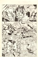 Champions #6 p.16 - Malice Thrown in Jail - 1987 Comic Art